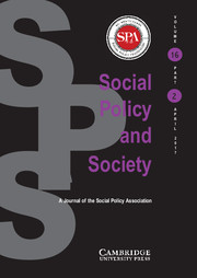 Social Policy & Society Annual Lecture